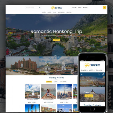 Aspero Travel Prestashop responsive theme
