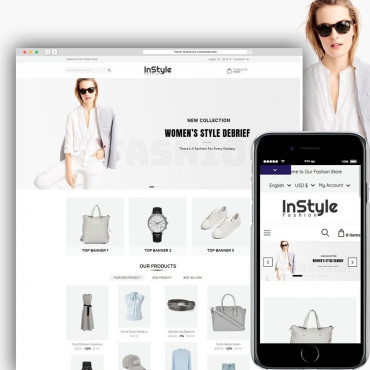 In Style Prestashop responsive theme