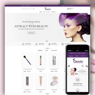 Beauty Prestashop responsive theme
