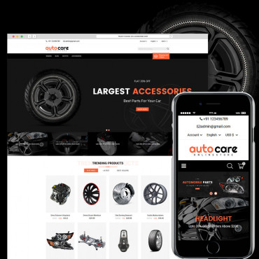 Auto Care Online Prestashop responsive theme