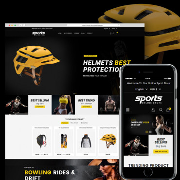 Sports Multipurpose Prestashop responsive theme