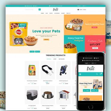 Paws Store Prestashop responsive theme