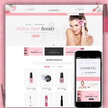 Cosmetic Prestashop responsive theme