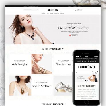 Diamond Prestashop responsive theme