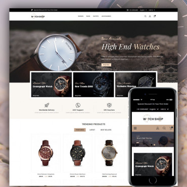 Watch Multipurpose Prestashop responsive theme
