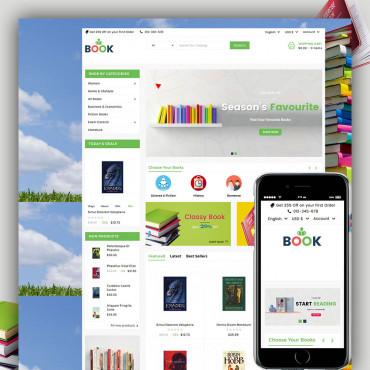Book Prestashop responsive theme