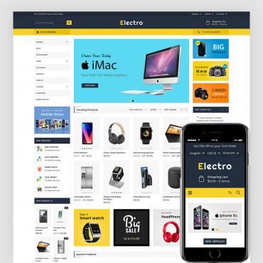 Electro  Prestashop responsive theme