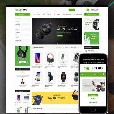 Electro Multipurpose Prestashop responsive theme