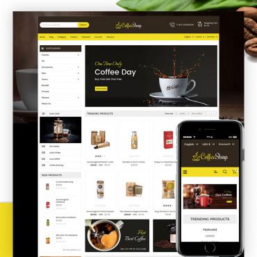 Coffee-Shop  Prestashop responsive theme