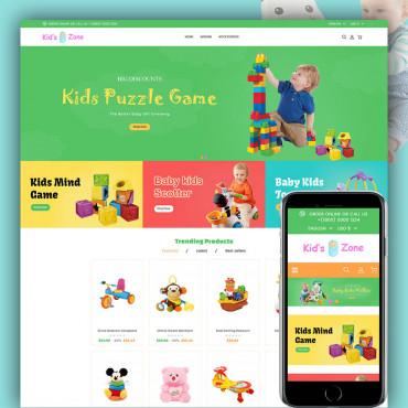 Kidszone Prestashop responsive theme