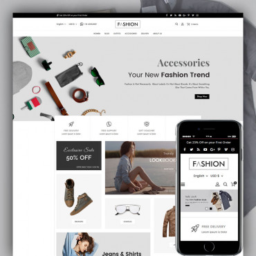 Fashion Prestashop responsive theme