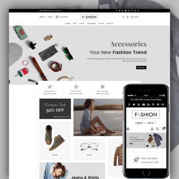 Fashion Prestashop responsive theme