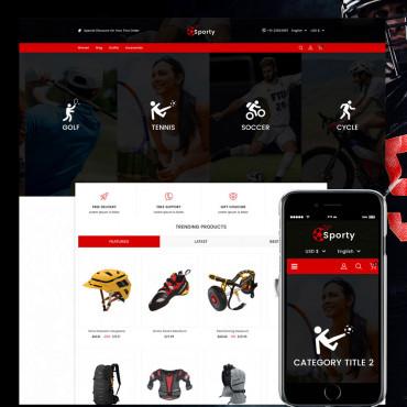Sporty Multipurpose Prestashop responsive theme