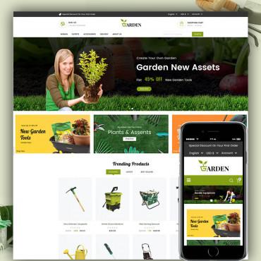 Garden Tools Prestashop responsive theme