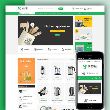 Mission Prestashop responsive theme
