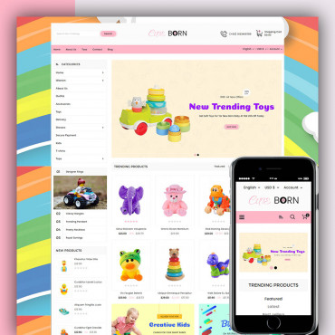 Cuteborn Prestashop responsive theme