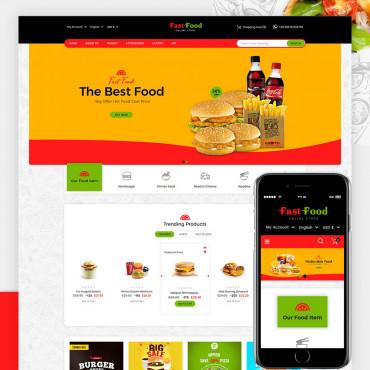 Fast Food Prestashop responsive theme