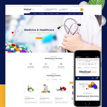 Medical Care Prestashop responsive theme