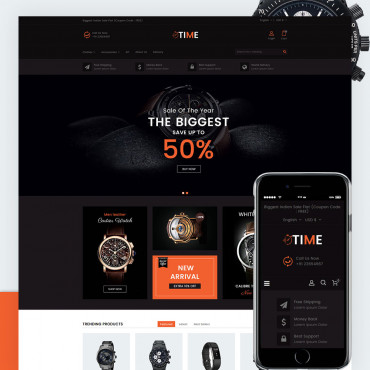 Watch Shop Prestashop responsive theme