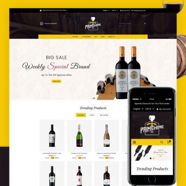 Prime Wine Prestashop responsive theme