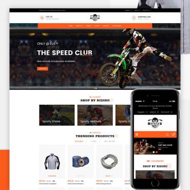 Motoclub Prestashop responsive theme