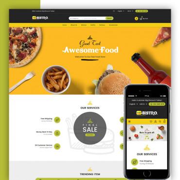 Foodie Multipurpose  Prestashop responsive theme