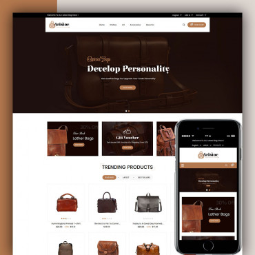 Aristoc Bag Store Prestashop responsive theme