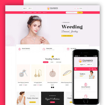 Gold Ments Prestashop responsive theme
