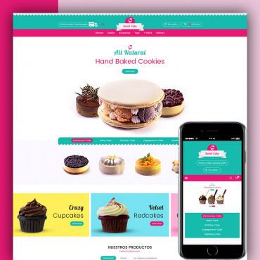 Sweet Cake Prestashop responsive theme