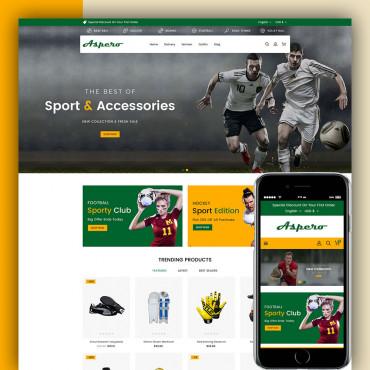 Aspero Sports Prestashop responsive theme