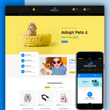 Pet Store Prestashop responsive theme
