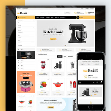 Dream Kitchen Prestashop responsive theme