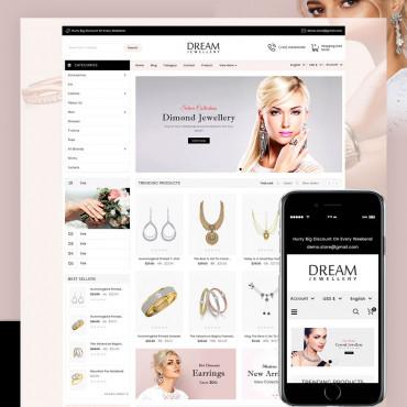 Dream Jewellery Prestashop responsive theme
