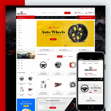 Dream Auto Prestashop responsive theme