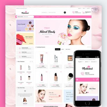 Natural Cosmetic Prestashop responsive theme