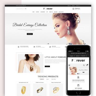 Forever Jewellery Prestashop responsive theme