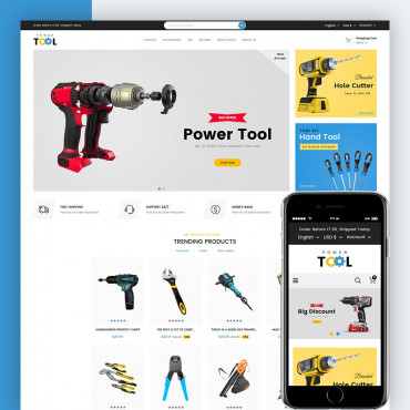 Power Tools Prestashop responsive theme