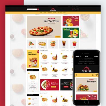 Foodies Prestashop responsive theme