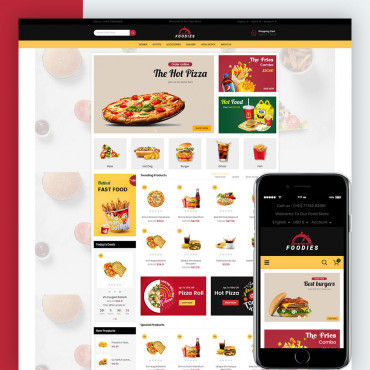Foodies Prestashop responsive theme