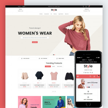 Style  Prestashop responsive theme