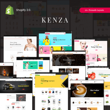 Kenza Sectioned Shopify Responsive Theme