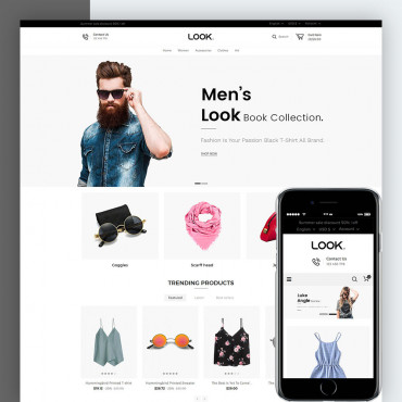 Look Fashion - Opencart Responsive Theme