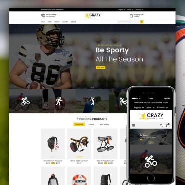Crazy Sports Prestashop responsive theme